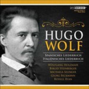 Spanish Songbook - Italian - CD Audio di Hugo Wolf