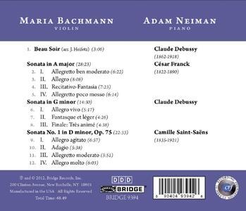 French Fantasy - CD Audio di Maria Bachmann - 3