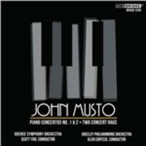 Concertos and Rags for pi - CD Audio di John Musto
