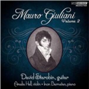 Mauro Giuliani Vol.2 - CD Audio di Mauro Giuliani