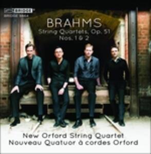 String Quartets Op.51 No. - CD Audio di Johannes Brahms
