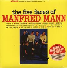 Five Faces Of Manfred Mann - Vinile LP di Manfred Mann