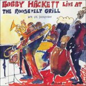 Live at Roosevelt Grill - CD Audio di Bobby Hackett