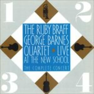Live at the New School - CD Audio di George Barnes,Malcom Braff