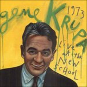 Live at the New School - CD Audio di Gene Krupa