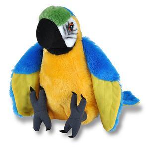 Cuddlekins Medium Macaw Parrot 30Cm. Pluche Knuffel