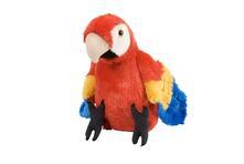 Cuddlekins Medium Macaw Scarlet 30Cm. Pluche Knuffel