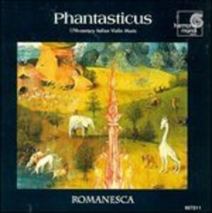 Phantasticus - CD Audio di Andrew Manze