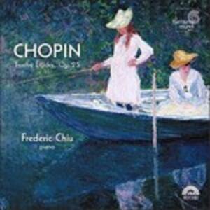 Studi op.25 - CD Audio di Fryderyk Franciszek Chopin