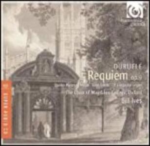 Requiem op.9 - 4 Mottetti su dei temi gregoriani - Messa Cum Jubilo - 4 Pezzi per organo - SuperAudio CD ibrido di Maurice Duruflé