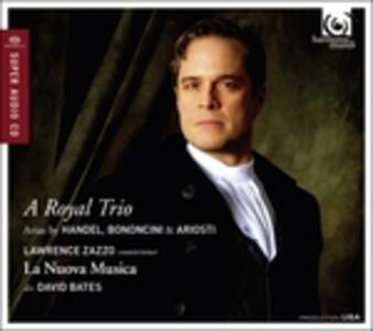 A Royal Trio - SuperAudio CD ibrido di Lawrence Zazzo