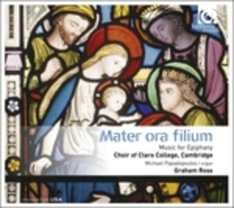 Mater Ora Filium. Musica per l'Epifania - CD Audio