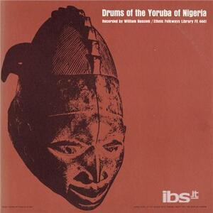 Drums Yoruba of Nigeria - CD Audio