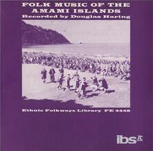 Folk Music Of The Amami Islands Japan - CD Audio
