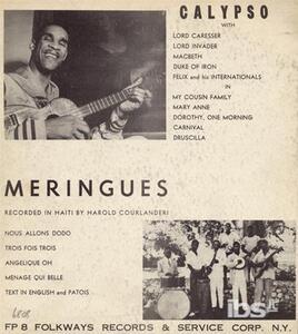 Calypso & Meringues - CD Audio