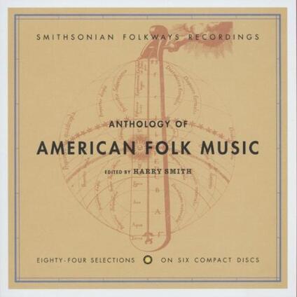 Anthology of American Folk Music - CD Audio