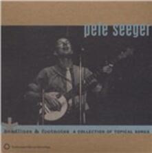 Headlines & Footnotes - CD Audio di Pete Seeger