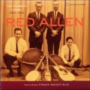 Folkways Years 1964-83 - CD Audio di Red Allen