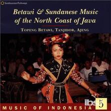 Music of Indonesia vol.5 - CD Audio