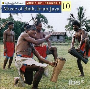 Music of Indonesia vol.10 - CD Audio