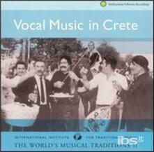 Vocal Music in Crete - CD Audio