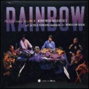 Rainbow. Music of Central Asia vol.8 - CD Audio + DVD di Kronos Quartet,Alim Qasimov