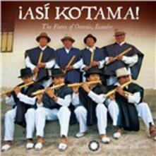 Asi Kotama - CD Audio di Hatun Kotama