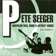 American Folk, Game & Act - CD Audio di Pete Seeger