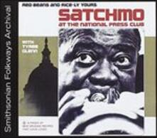 Satchmo at the National Press Club - CD Audio di Louis Armstrong