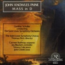 Mis In D - CD Audio di John Knowles Paine