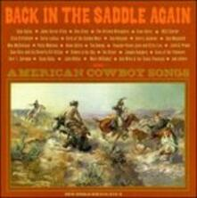 Back in the Saddle Again - CD Audio