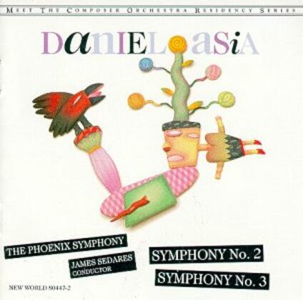 Sinfonie n.2, n.3 - CD Audio di Daniel Asia