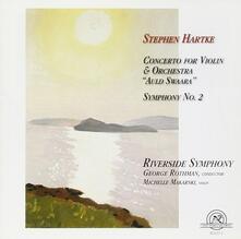 Concerto For Violin & Orchestra - CD Audio di Stephen Hartke