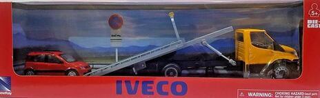 New Ray Iveco New Daily Soccorso Auto con Auto 1:43 Die-Cast 15875ss modello assortito