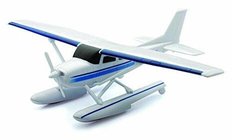 NewRay 20653, Sky Pilot Cessna 172 Skyhawk With Float, Idrovolante, Scala 1:42 - 2