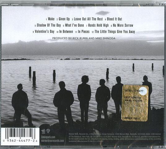 Minutes to Midnight - CD Audio di Linkin Park - 2