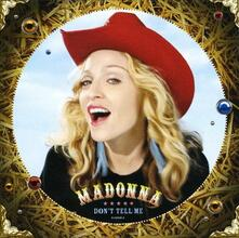 Don't Tell Me - CD Audio di Madonna
