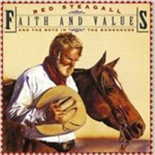 Faith and Values - CD Audio di Red Steagall