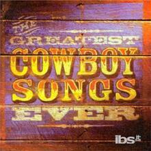 Greatest Cowboy Songs Eve - CD Audio