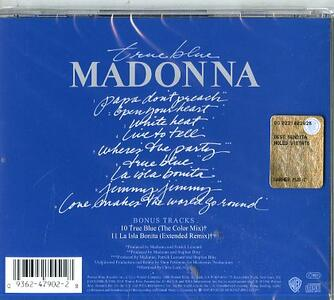 True Blue (Remastered) - CD Audio di Madonna - 2