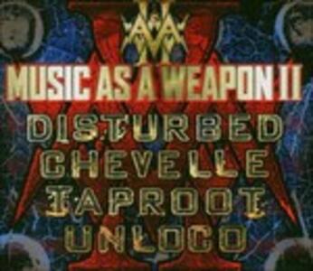 Music as a Weapon II - CD Audio + DVD
