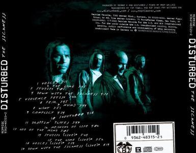 Sickness - CD Audio di Disturbed - 2