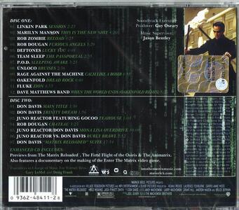Matrix Reloaded (Colonna Sonora) - CD Audio - 2