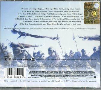 Il Signore Degli Anelli 3. Il Ritorno Del Re (Lord of the Rings 3. The Return of the King) (Colonna Sonora) - CD Audio di Howard Shore - 2