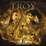 Cover CD Colonna sonora Troy