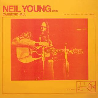 CD Carnegie Hall 1970 Neil Young