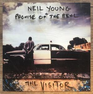 CD The Visitor Neil Young Promise of the Real