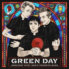 CD Greatest Hits. God's Favorite Band Green Day