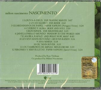 Nascimento - CD Audio di Milton Nascimento - 2