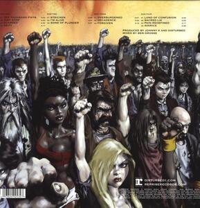 Ten Thousand Fists - Vinile LP di Disturbed
